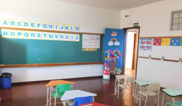 Escola Pio X | Sala de aula